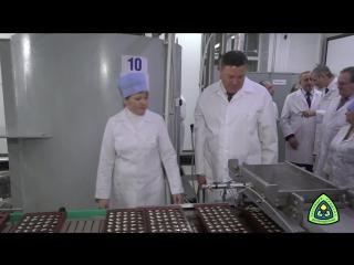 Знакомство с работой кондитерской фабрики