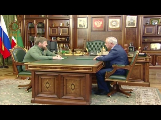 Встреча с Председателем Верховного суда ЧР