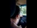 Я второй раз водила машину, иномарка Опель Омега