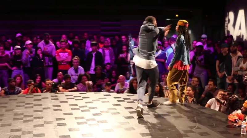 Djylo Sarcellite vs Angyil Mcneal One Shot call out at Battle BAD
