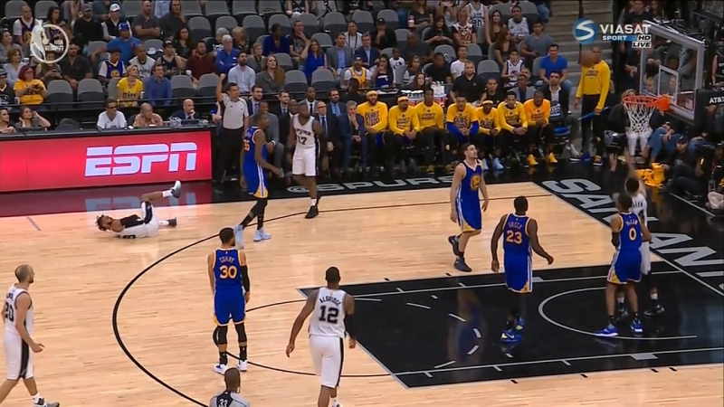 NBA Playoffs 2017 Сан Антонио-Голден Стэйт 23.05.2017 (Viasat Sport)