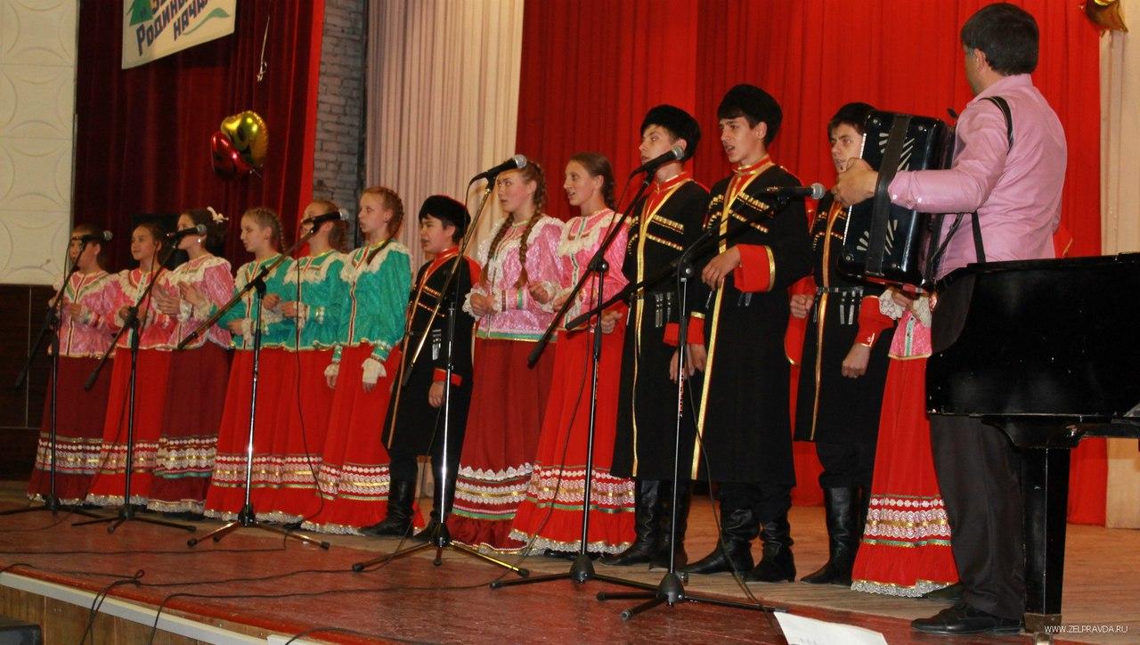 Большой концерт ДШИ состоялся в РДК станицы Зеленчукской