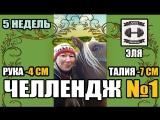 УЧАСТНИЦА ЭЛЯ. ФИТНЕС-ЧЕЛЛЕНДЖ №1. 5.10.17-5.12.17