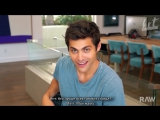 Matthew Daddario for RAWs Word Play | RUS SUB | HS