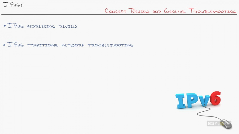 25. ICND2 IPv6 Concept Review and General Troubleshooting