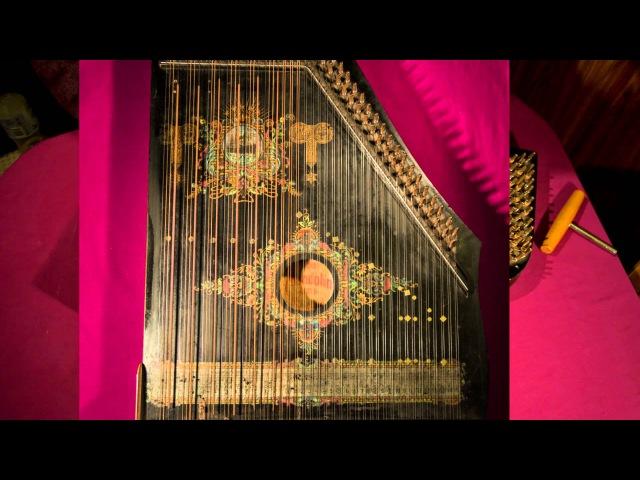 Wayfaring Stranger played on a 6-chord zither