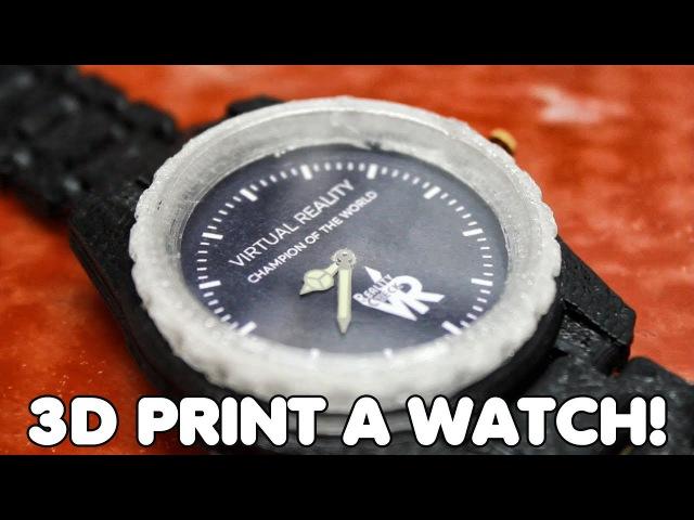 3D Print A Functional Wrist Watch | Lulzbot Taz 6