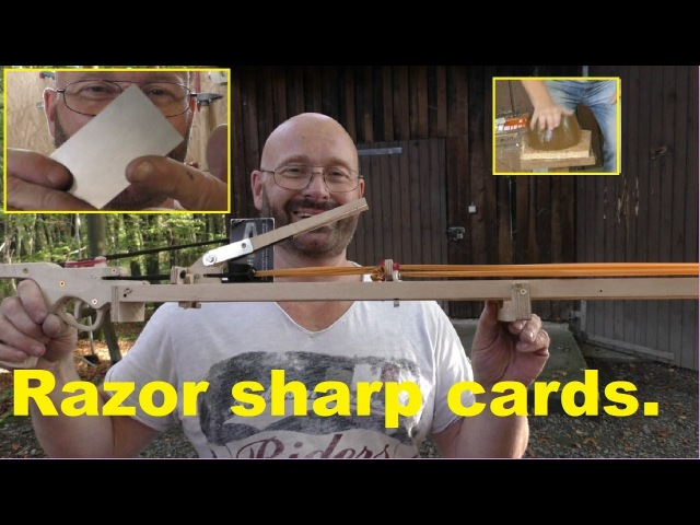 How To Weaponize Business Cards - Cardception