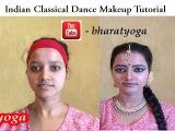 DIY Indian classical dance makeup   kathak makeup tutorial