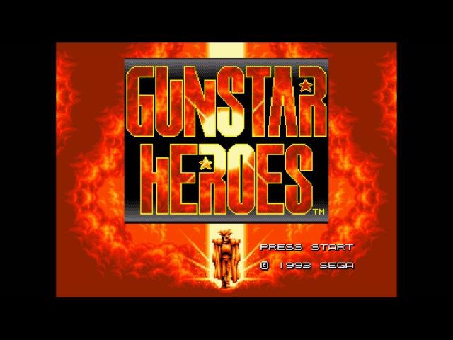 Gunstar Heroes - Military on the Max-Power [Genesis] Music