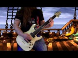 Donkey Kong Country - King K.Rool´s theme (Gang-Plank Galleon) on guitar