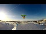 Snowboarding2017. Yeti Park.