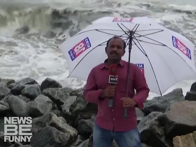 :-)) reporter vs. windsee