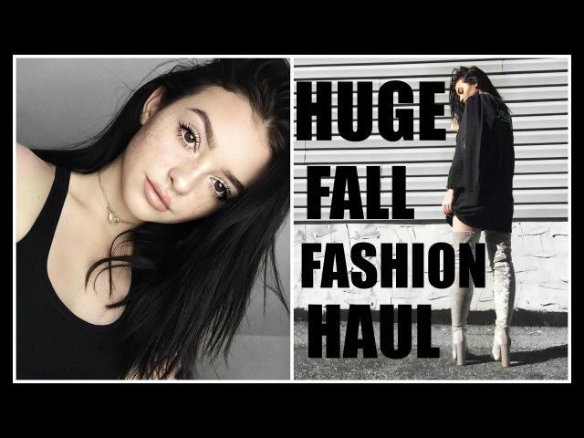 HUGE FALL FASHION HAUL! | Lulus, Brandy melville, EGO shoes