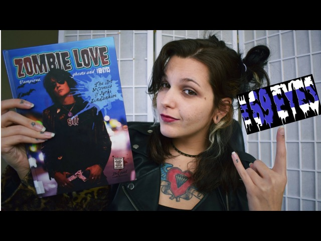 Zombie Love - História em quadrinhos de Jyrki Linnankivi, The69Eyes VEDA5
