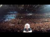 Selfie Stick Video  Kaunas, Lithuania November 17, 2017 Queen + Adam Lambert