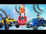Bad Baby wheel Fell off Ferrari Power Wheel car Fun kids Pretend Play and ride on Power Wheels cars