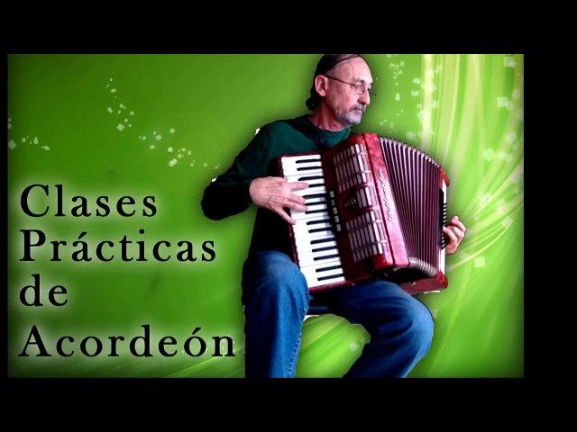 Clases de acordeón CLASE 4: Primer ejercicio práctica con la mano derecha