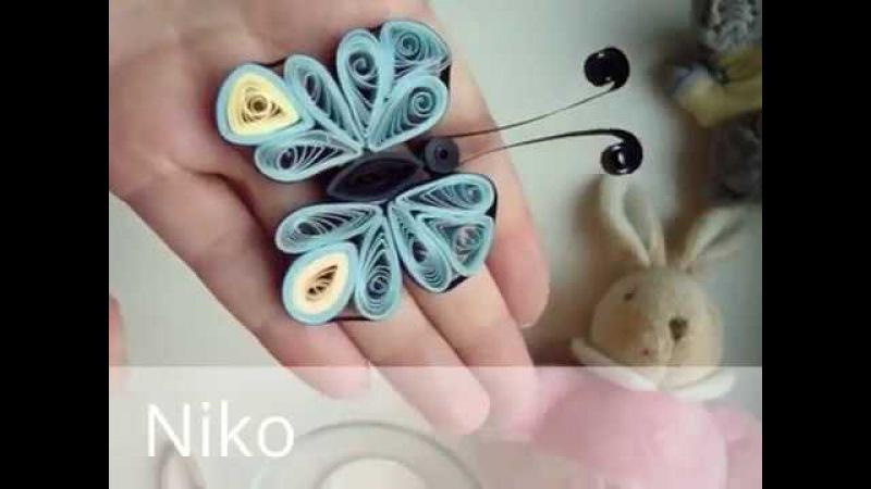 Butterfly , perhonen, , бумажная бабочка