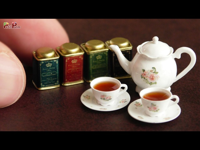 DIY Miniature Tea Pot Tea Cup | Petit Palm