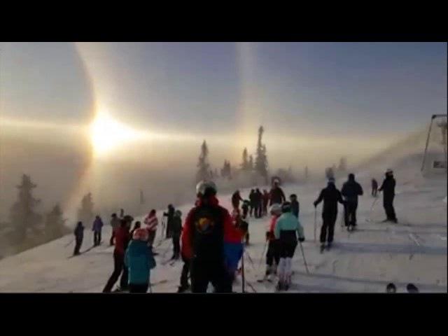 Spectacular sun halo seen in Sweden Norway