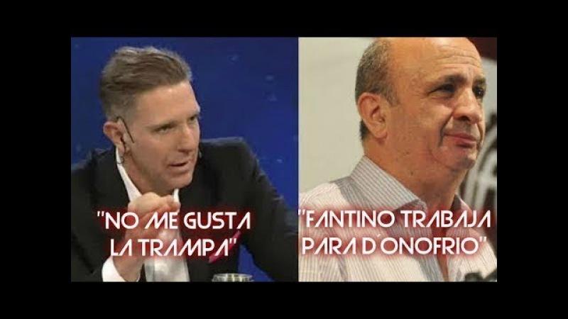 Fantino - destroza al presidente de Lanus por la derrota con Gremio 30/11/17