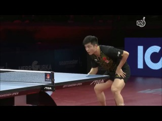 Fan Zhendong vs Zhou Yu (Swedish Open 2017) MS 1/2