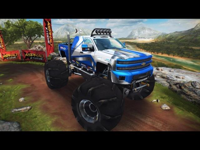 Chevrolet Silverado 2500HD Monster 1.06.947 MAX No Booster Asphalt Xtreme