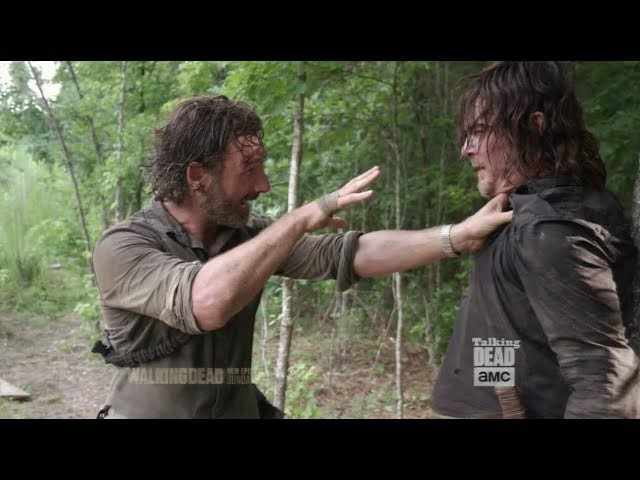 Talking Dead 8x05. Andrew Lincoln Norman Reedus talk about