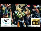 Видео 360 Черепашки Нинзя 2 VR (Шутки с пицей) Teenage Mutant Ninja Turtles 2