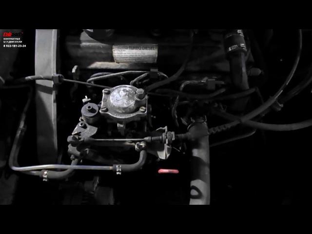 Двигатель Volkswagen Golf AAZ