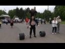 Виктор Блуд - Становая Тяга С Девушкой На Плечах