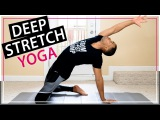 60 Min Full Body Deep Stretch Recovery Yoga for Athletes and Runners to Relieve Sore Muscles & DOMS