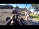Drove the Go Kart and Drift Trike to School