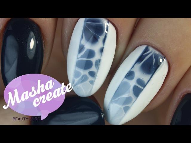 Модный маникюр 2017. Дизайн ногтей по мокрому F.O.X Waterway ОБЗОР всей палитры