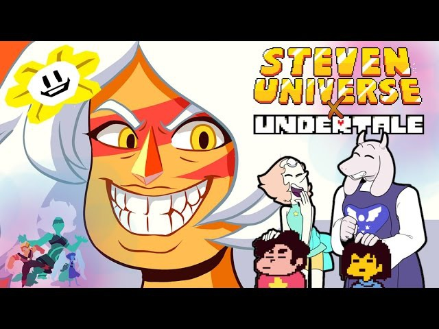 Steven Universe x Undertale - JASPER and the History of the GEM WAR [ 8-Bit Fan Animation ]