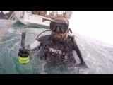 Railey Beach, Honda Wave тест, швартовка в марине Yacht Haven, очистка дна лодки в акваланге.