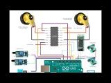 Robot Arduino АлёнаМобиль часть 24 - инструкция по сборке сигнальных цепей