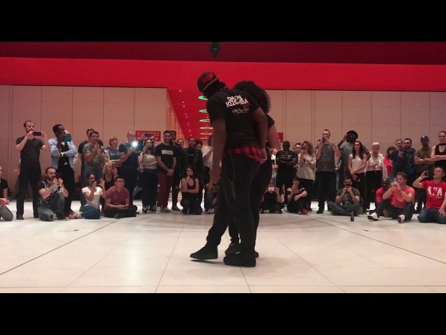 Kizomba Musicality ➡ Laurent Adeline - Demo Unified, Luxembourg - 2017