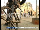 Весеннее обострение вандализма - памятники в центре города подверглись нападению неизвестных вандалов