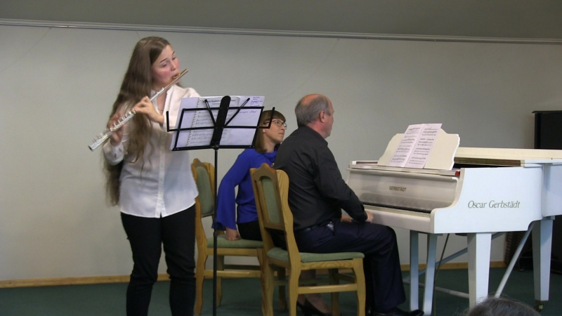 Глеб Май. Концерт для флейты и струнного оркестра Версаль. 1 часть