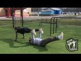 Парная тренировка.Видео для Дениса Семенихина.