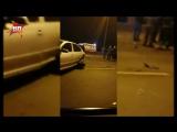 Появилось видео с места смертельного столкновения шести машин на МКАД