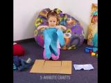 Интересная идея! Как приучить детей к порядку в шкафу