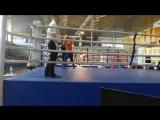 Наталья Попова 2 бой 2-3 раунд