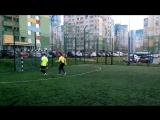 Двухсторонка Fifa белые 25 желтые (Гол, обводка вратаря)
