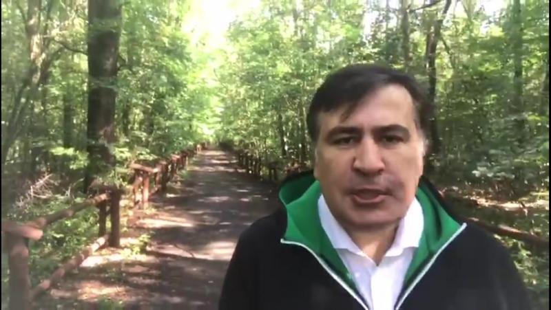 Михаил Саакашвили неподкупный несгибаемый лидер