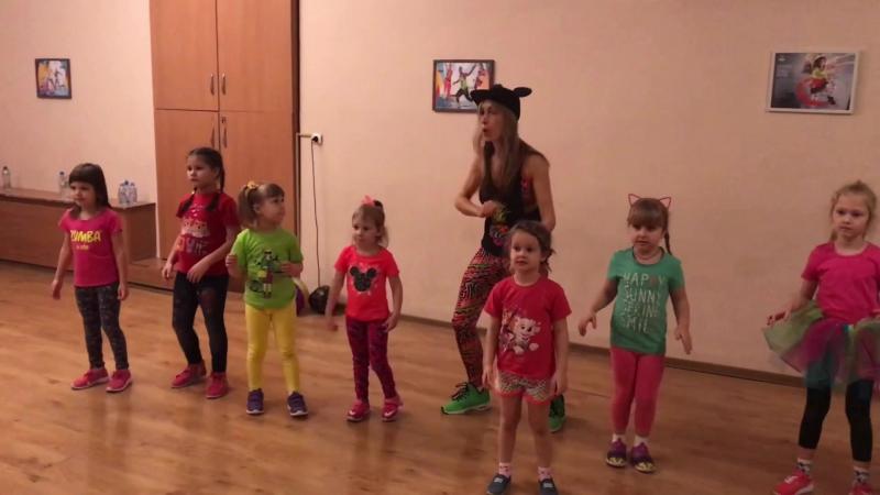 ZUMBA® Kids junior 4-6 лет танцы во Владимире «Танцуй вместе с нами!», Вахтанг, Гонзо, Верина, Лебаннер.