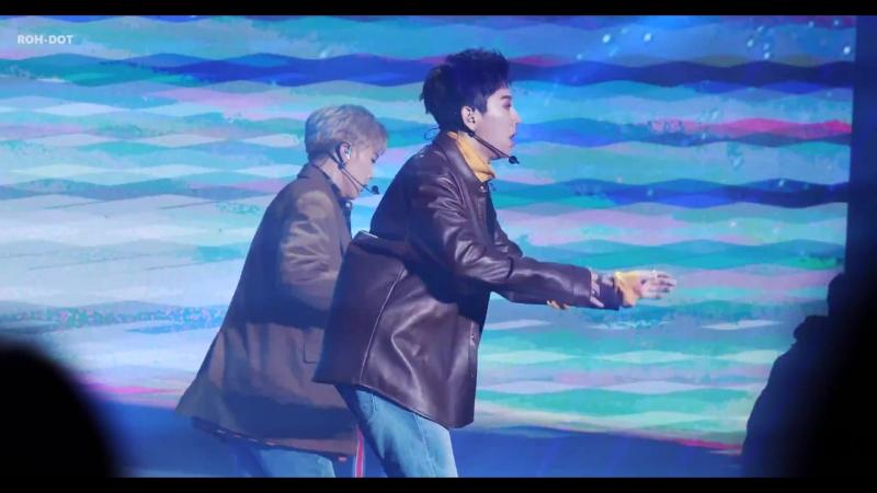 18 10 17 Дебютный шоукейс JBJ Say My Name Фокус на Тэхёна от OZO TAEHYUN