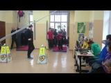 Саша Иванов на соревнованиях в центре